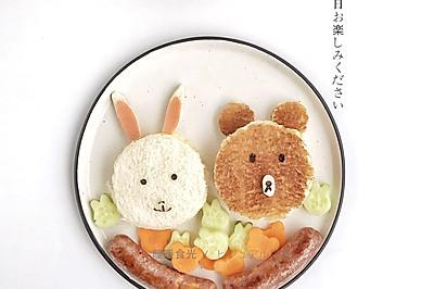 儿童创意三明治——让孩子爱上吃饭