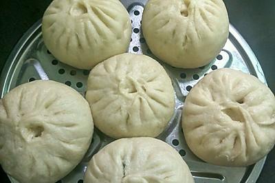 杏鲍菇豇豆猪肉包子