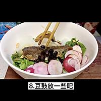 """#美食视频挑战赛#猫叔教你一款""""水萝卜鲮鱼油麦菜沙拉""""的做法图解9"""