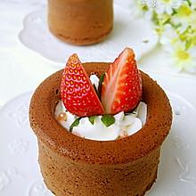 可可海绵杯子蛋糕: