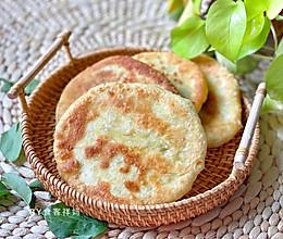 #换着花样吃早餐#不揉面,春笋芽菜煎饼的做法