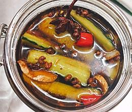 炒鸡无敌腌酱黄瓜的做法
