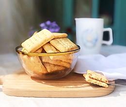 芝麻奶香苏打饼干的做法