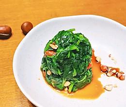 冬季,菠菜的季节,凉拌的美味的做法