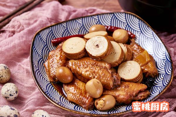 三味卤锅(卤鸡翅+卤蛋+卤豆皮卷)