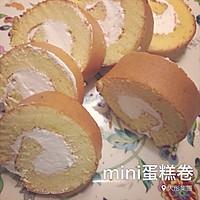 mini戚风蛋糕卷(家用烤箱简单版)-这位同学