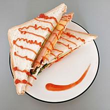 网红三明治~火腿蛋芝士