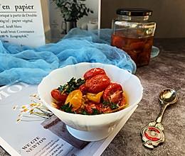 """#美食说出""""新年好""""#油浸小番茄的做法"""