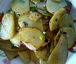 土豆片的做法