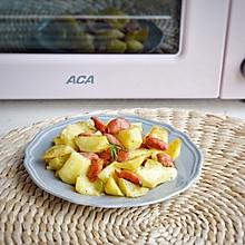 #ACA北美电器#烤箱不仅仅是烘焙:黑胡椒火腿薯角
