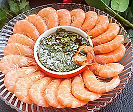 白灼虾#德国Miji爱心菜#的做法