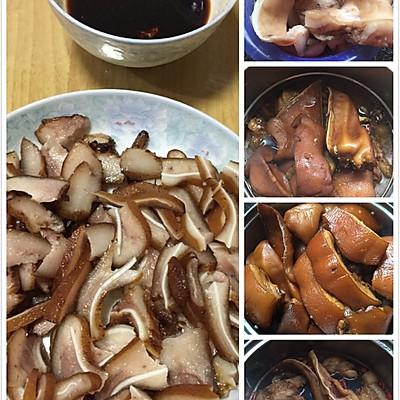 香辣卤猪头肉(下饭下酒好味道)