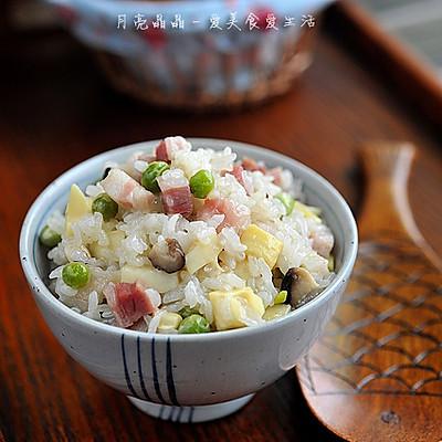 豌豆糯米饭