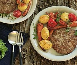 黄油牛肉饼的做法