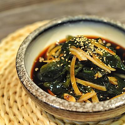 一次性满足你四个女王梦想-韩式凉拌裙带菜