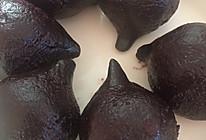 黑米粉团子的做法