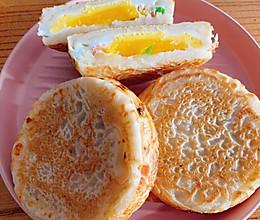 摩飞锅早餐饼的做法