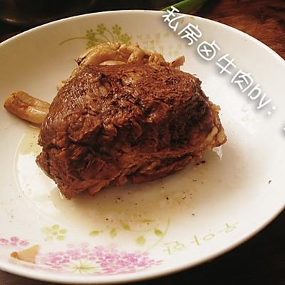 大喜大牛肉粉试用之不加一滴油的〜私房卤牛肉的做法 步骤10