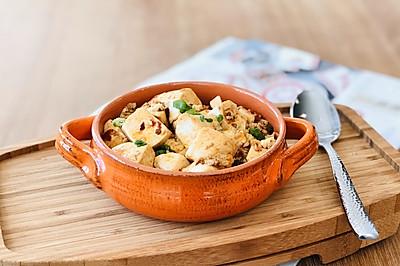 麻婆豆腐是聚餐必备的家常菜
