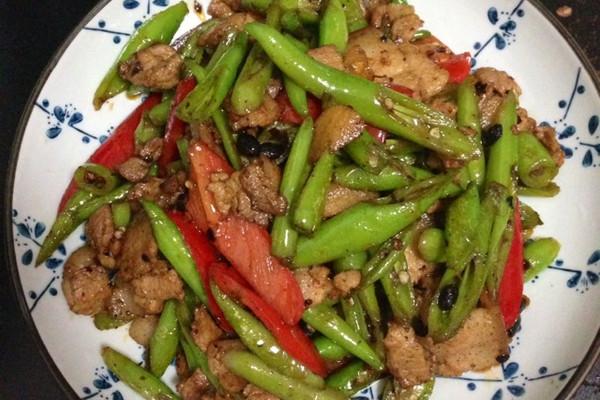 青椒小炒肉的做法