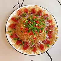 #爱乐甜夏日轻脂甜蜜#腊肠粉丝金针菇的做法图解13
