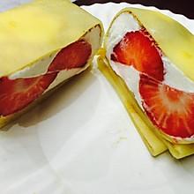草莓&芒果班戟