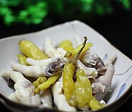 解馋小零食:泡椒凤爪的做法
