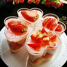 杯子版草莓慕斯蛋糕_____超简单超详解