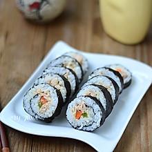 #丘比沙拉酱#金枪鱼手卷寿司