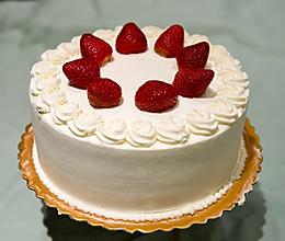 经典即是永恒-小嵨老师的草莓蛋糕(杰诺瓦士配方)的做法