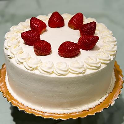 经典即是永恒-小嵨老师的草莓蛋糕(杰诺瓦士配方)