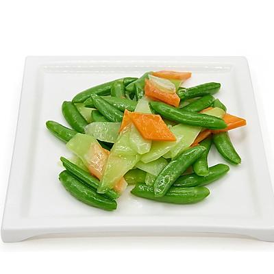 芥兰甜豆胡萝卜