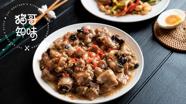 豆豉蒸排骨丨抽出一分钟,为你所爱的人做道菜的做法