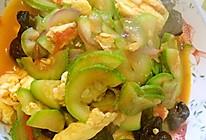 西葫芦番茄炒蛋的做法