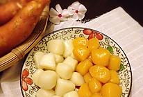 山药和红薯芋圆的做法