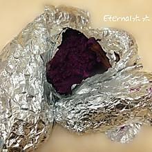 #九阳烘培剧场#烤紫薯