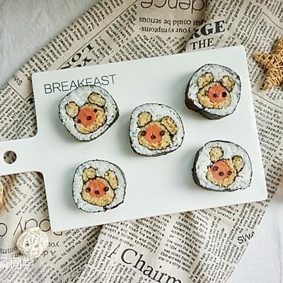 可爱小熊寿司