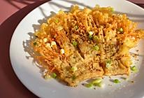 #美食视频挑战赛# 酥脆金针菇的做法