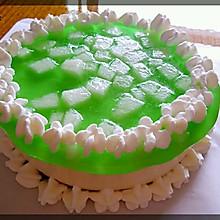 青柠酸奶芝士蛋糕