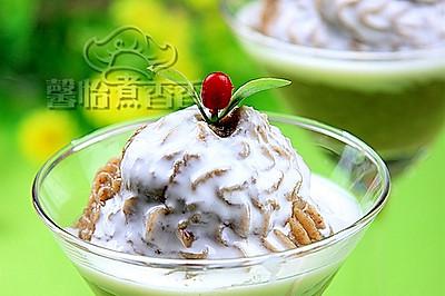 绿豆莲子冰沙
