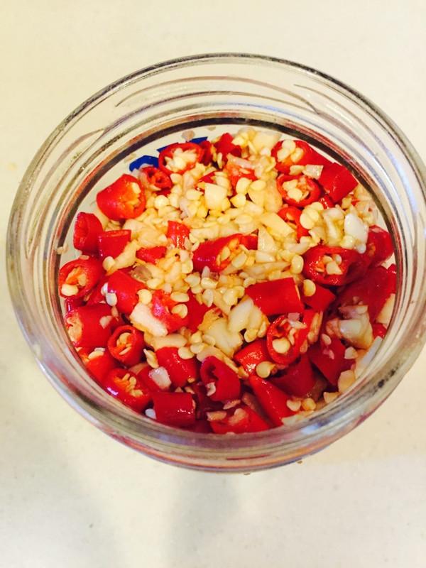 史上最容易做剁椒酱的做法
