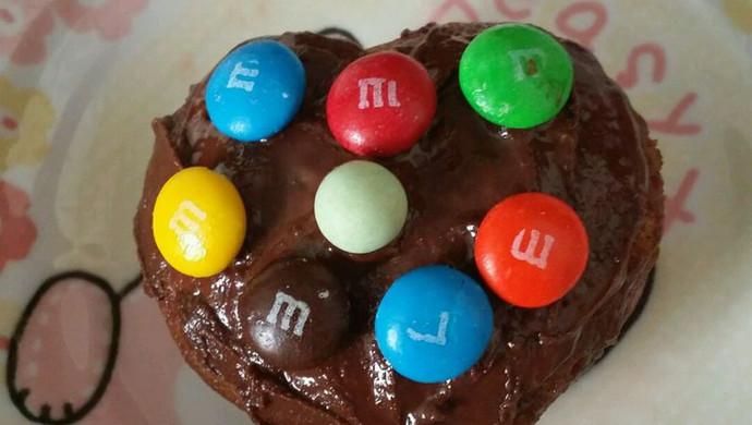 微波炉巧克力蛋糕