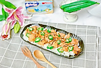 三文鱼秋葵散寿司的做法