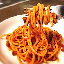意式经典——肉酱意面