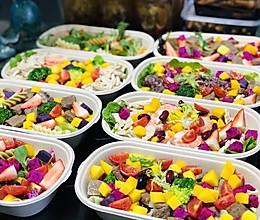 轻食沙拉瘦身餐,减脂餐的做法