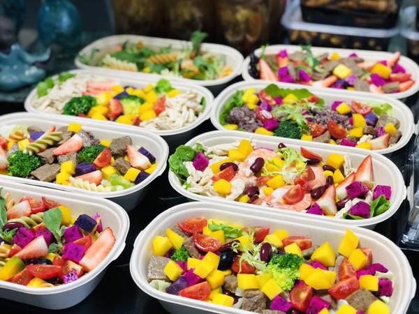 轻食沙拉瘦身餐,减脂餐