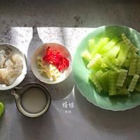 青笋炒虾仁的做法图解3