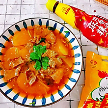 #豪吉川香美味#水煮牛肉