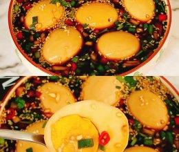 减脂期鸡蛋新吃法!巨好吃㊙️韩式酱鸡蛋的做法