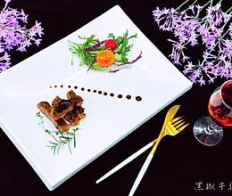 黑椒牛排&蔬菜沙拉的做法